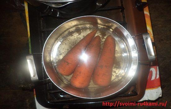 Варим морковь