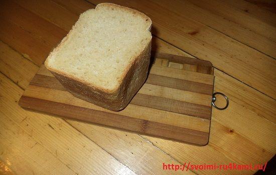 Берем пол булки хлеба
