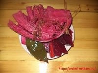 Квашеная красная капуста