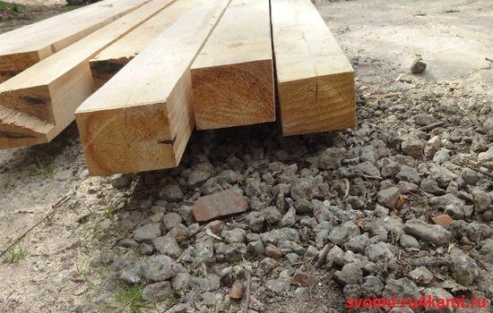 Деревянный брус 100х150
