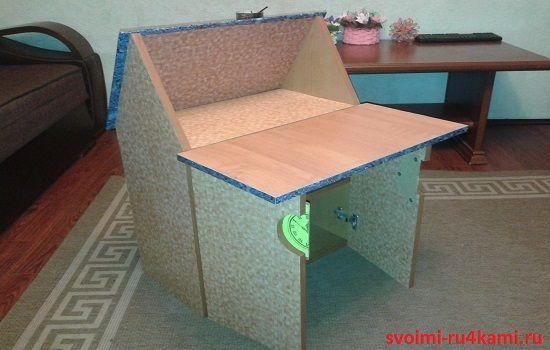 Стол в разобранном виде
