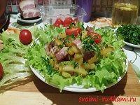 Жареная картошка с салом и луком рецепт