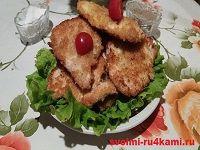 Отбивные из куриных грудок рецепт