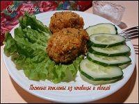 Котлеты из чечевицы и овощей рецепт