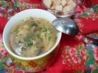 Суп из шампиньонов рецепт